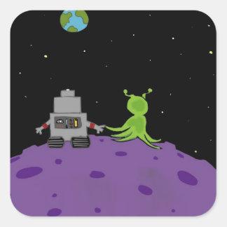 Amor en el pegatina de Plutón