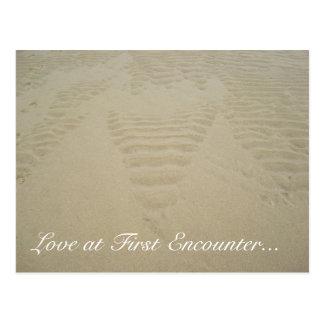 Amor en el primer encuentro… postales