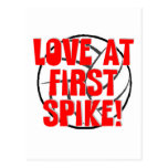 ¡Amor en el primer punto! Tarjeta Postal