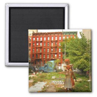 Amor en la ciudad del alfabeto, East Village, NYC Iman De Nevera