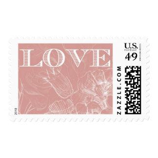 Amor en la floración B de Ceci Nueva York Estampilla