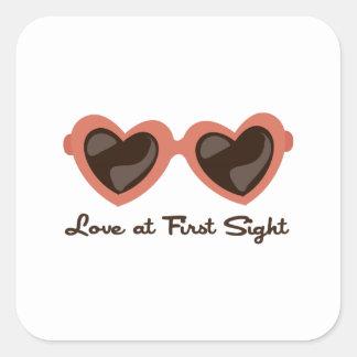 Amor en la primera vista colcomania cuadrada