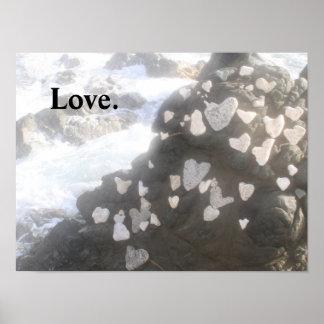 Amor en las rocas póster