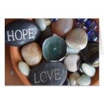 Amor en las rocas tarjeton