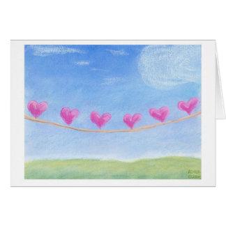 Amor en línea 2 tarjeta de felicitación