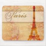 Amor en París Alfombrilla De Ratón