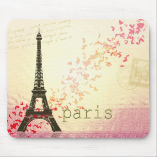 Amor en París Tapetes De Ratón