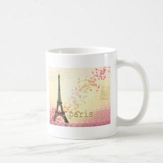 Amor en París Taza De Café