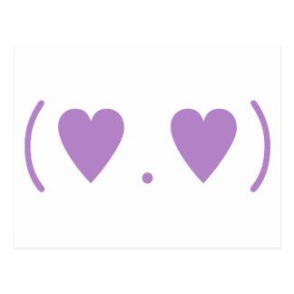 Amor en púrpura postal