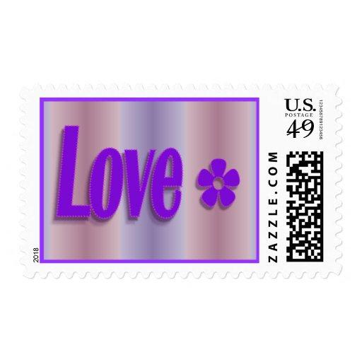 amor en púrpura timbres postales