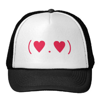 Amor en rojo gorras