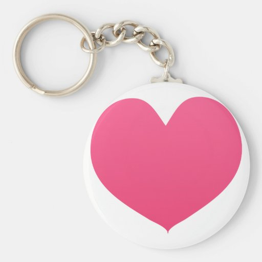 Amor en rosa llavero