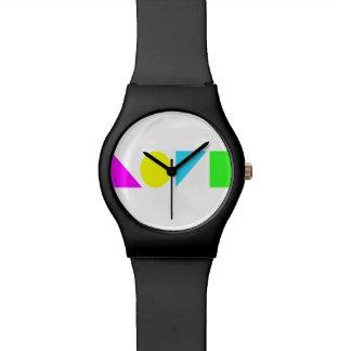 Amor en su forma más simple relojes