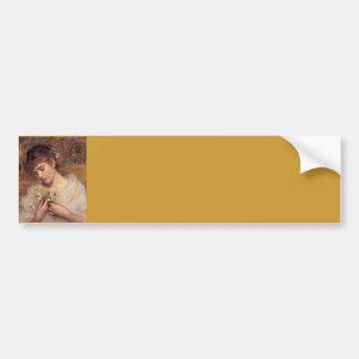 Amor en una niebla de Sophie Anderson Etiqueta De Parachoque