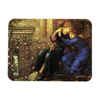 Amor entre la bella arte de las ruinas imanes