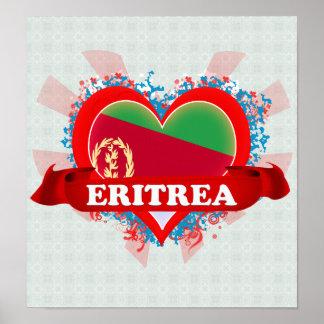 Amor Eritrea del vintage I Póster
