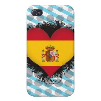 Amor España del vintage I iPhone 4 Funda