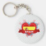 Amor España del vintage I Llaveros