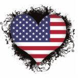 Amor Estados Unidos del vintage I Esculturas Fotográficas