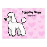 Amor estándar/de la miniatura/de juguete del canic plantilla de tarjeta personal