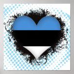 Amor Estonia del vintage I Impresiones