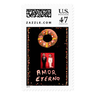 """""""Amor Eterno"""" stamps"""