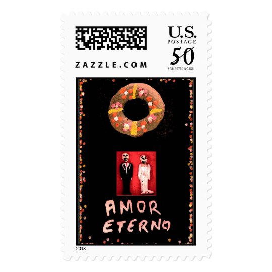 """Amor Eterno"" stamps"