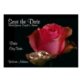 Amor eterno tarjeta de visita