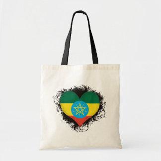 Amor Etiopía del vintage I Bolsa Tela Barata