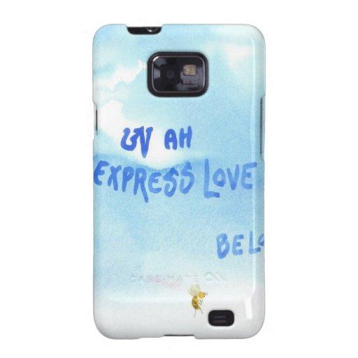 Amor expreso… Sea amor Galaxy SII Carcasas