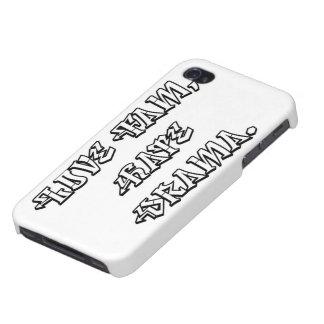 Amor Fam cubierta de Iphone del drama del odio iPhone 4 Carcasas