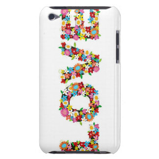 AMOR floral femenino iPod Touch Case-Mate Funda