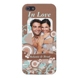 Amor floreciente iPhone 5 funda