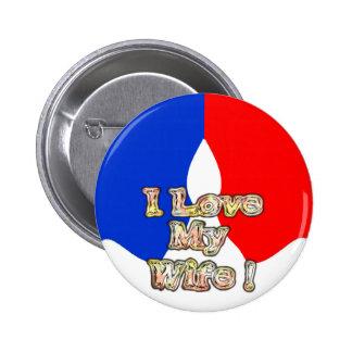 Amor francés de Hakuna Matata I de la bandera mi e Pins