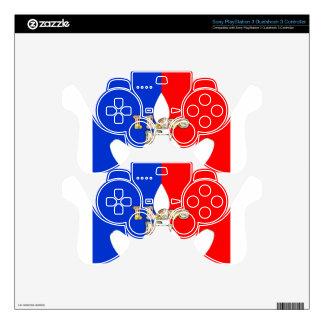 Amor francés de Hakuna Matata I de la bandera mi Skins Para Mandos PS3