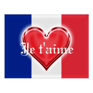 Amor francés postales