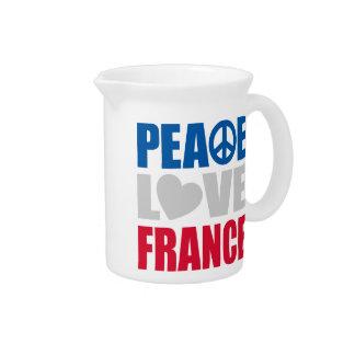 Amor Francia de la paz Jarras