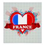 Amor Francia del vintage I Impresiones
