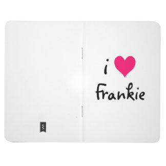 Amor Frankie del rosa I Cuaderno