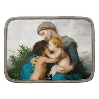 Amor fraternal madre con los niños por Bouguereau Planificador