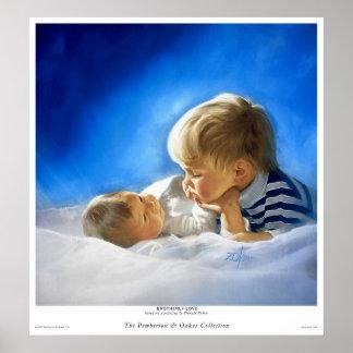 Amor fraternal póster