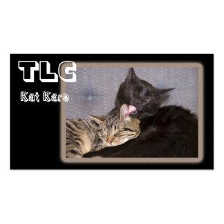 Amor fraternal tarjetas de visita