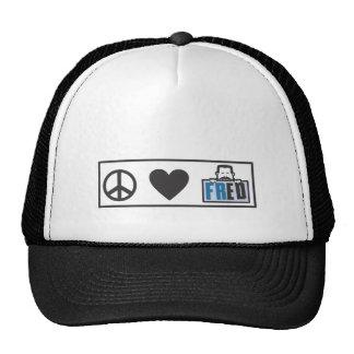 Amor Fred de la paz Gorras