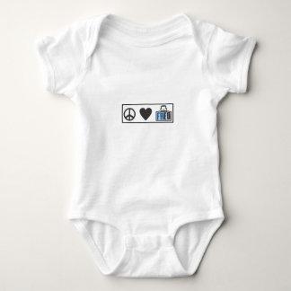 Amor Fred de la paz Mameluco De Bebé