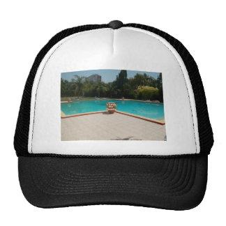 Amor fresco de la cara I de la piscina de Hakuna Gorros Bordados