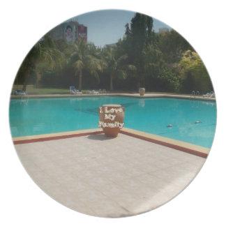 Amor fresco de la cara I de la piscina de Hakuna M Plato Para Fiesta