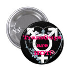 Amor FTM del transexual Pin Redondo 2,5 Cm