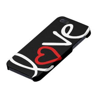 amor iPhone 5 fundas