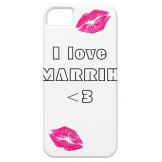 amor funda para iPhone 5 barely there