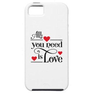 amor funda para iPhone 5 tough
